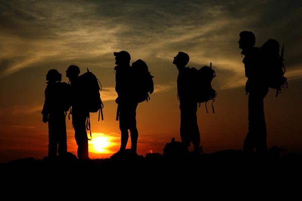 cammina - tramonto