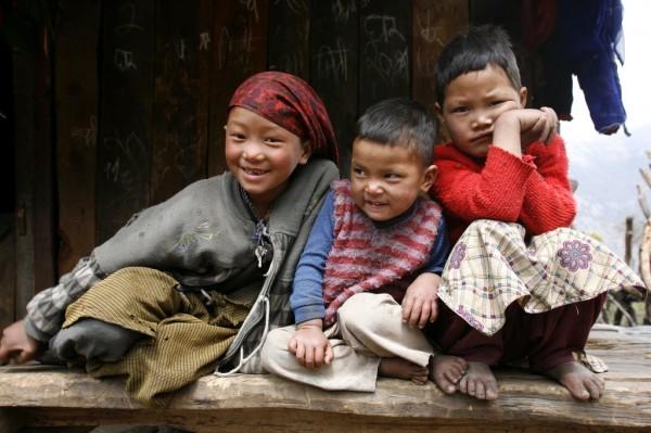 Bambini Nepal