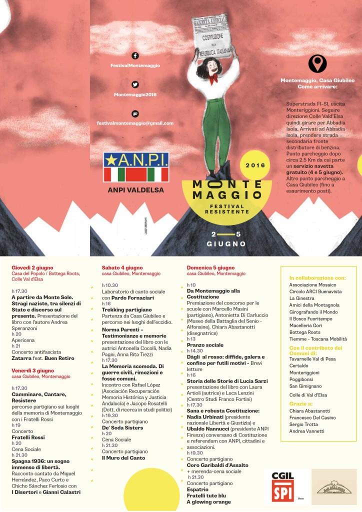 Programma Montemaggio 2016